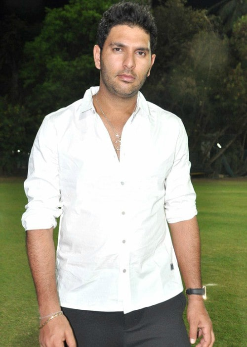 Yuvraj Singh as seen in March 2013