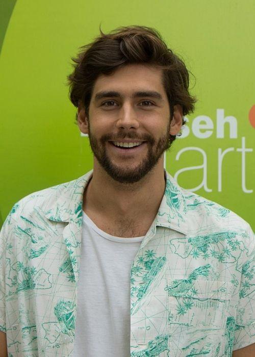Álvaro Soler appearing on the German TV show ZDF Fernsehgarten in Mainz in September 2018