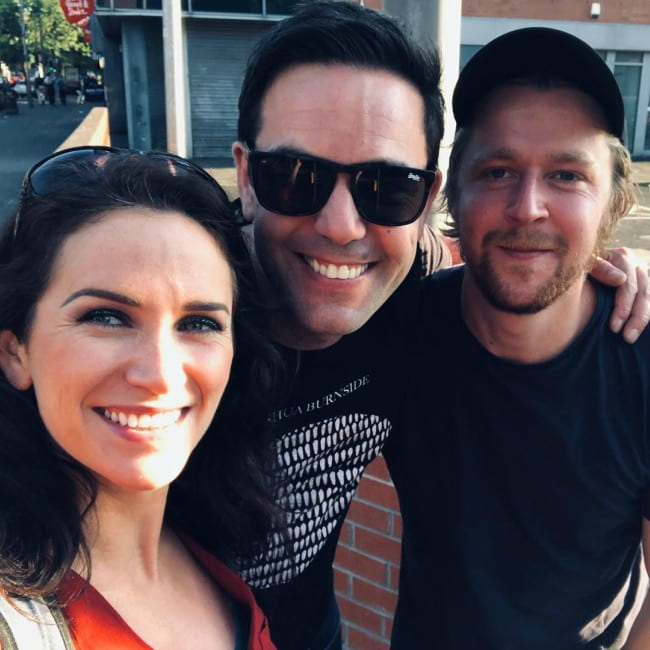 Aaron McCusker (Center), Jolene O'Hara (Left), and Connor Burnside as seen in July 2019