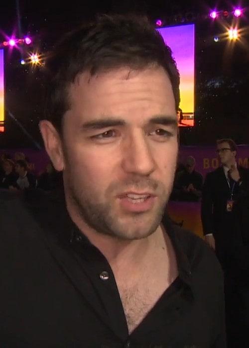 Aaron McCusker during an iinterview as seen in October 2018