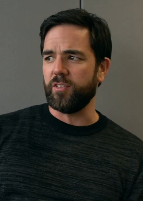 Aaron McCusker during an interview in June 2018