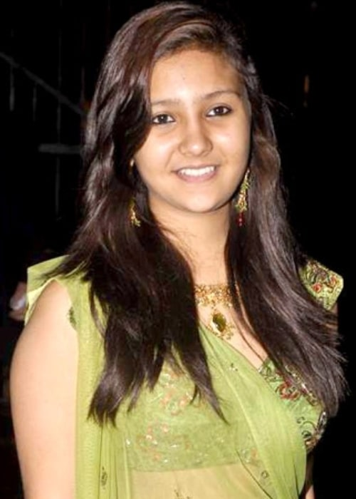 Aashika Bhatia as seen in a picture taken at the sangeet ceremony of actress Shweta Tiwari on November 2, 2013
