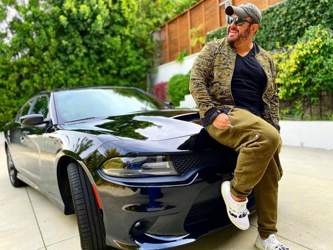 Adam Richman in an Instagram post as seen in December 2019