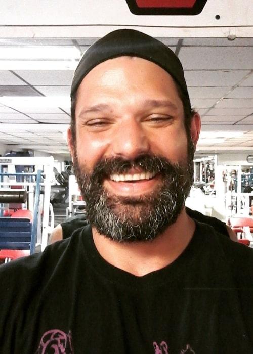 Adam Rose as seen in a selfie taken in June 2017