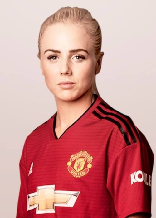 Alex Greenwood as seen in a Facebook Post from January 2019