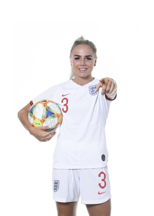 Alex Greenwood as seen in a Twitter Post in June 2019