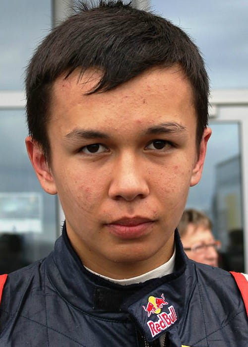 Alexander Albon at the 2012 Nürburgring World series