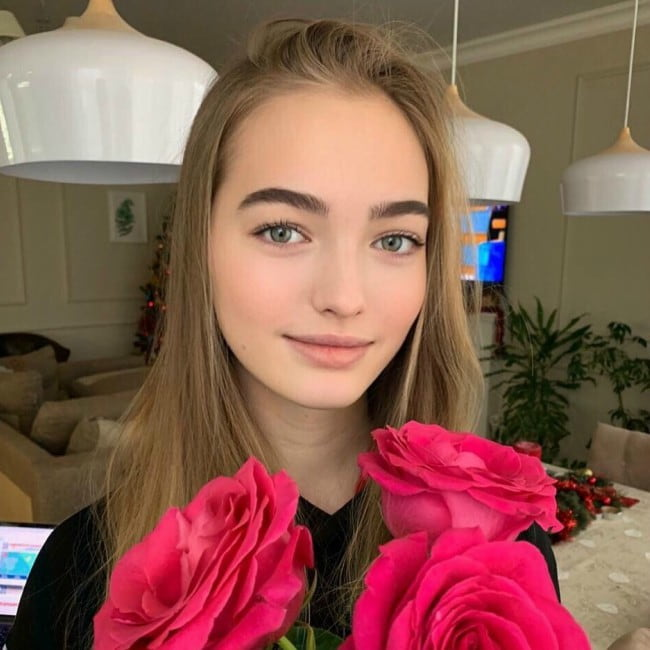 Anastasia Bezrukova in an Instagram post as seen in January 2020