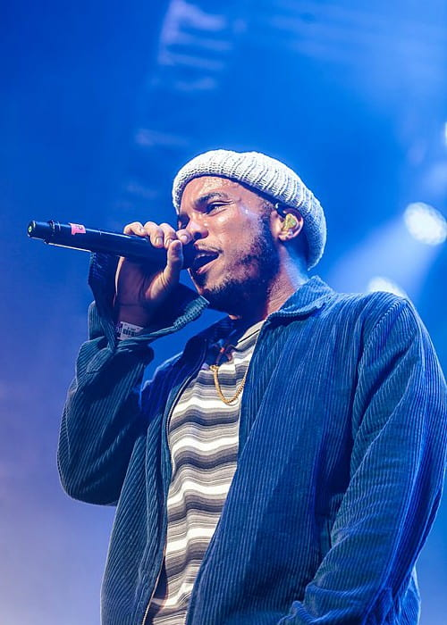Anderson Paak during a performance as seen in July 2018