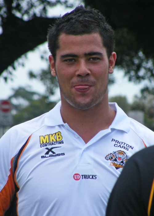 Andrew Fifita as seen in a picture taken at the Federation Cup Fan Day in 2010