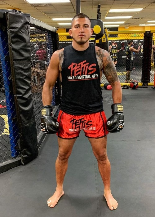 Anthony Pettis as seen in July 2019