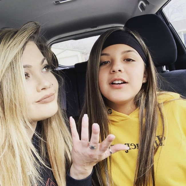 Ashlay Soto as seen in a car selfie along with her daughter, Olivia, in June 2019