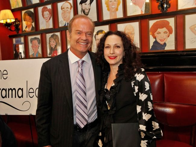 Bebe Neuwirth and Kelsey Grammer seen posing together in 2010