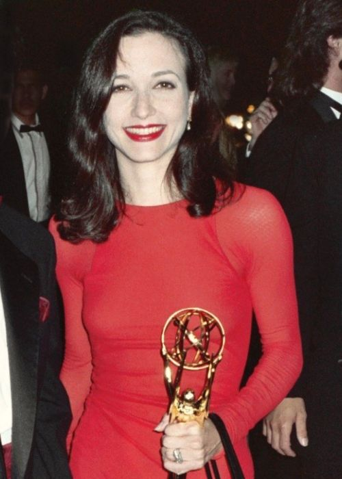 Bebe Neuwirth at the Governor's Ball after the 43rd Annual Emmy Awards in 1991
