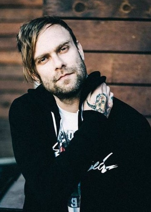 Bert McCracken in an Instagram post as seen in September 2017