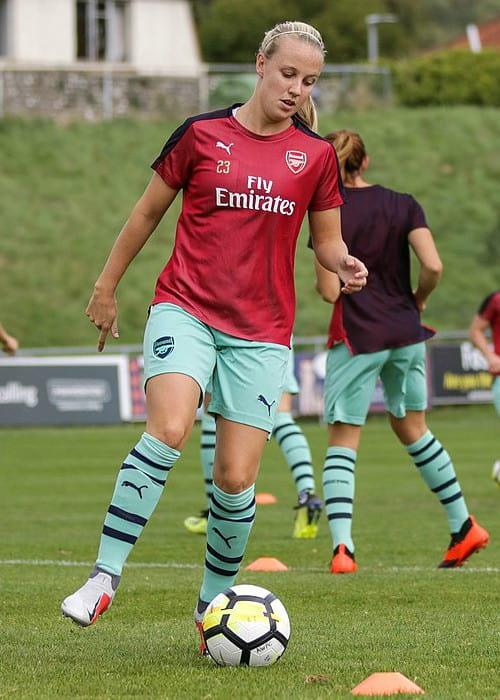 Beth Mead as seen in September 2018