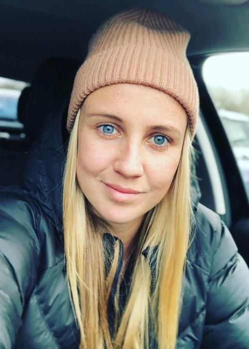 Beth Mead in an Instagram selfie as seen in March 2019