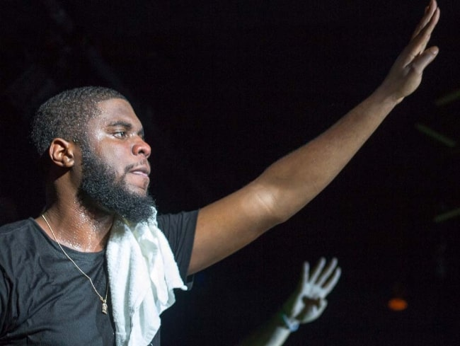 Big K.R.I.T. as seen during the 'Pay Attention Tour' in Toronto, Ontario, Canada in October 2014