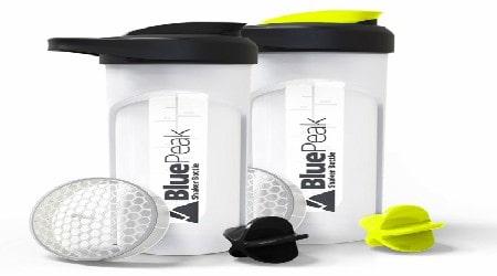 BluePeak Protein Shaker Bottle Review