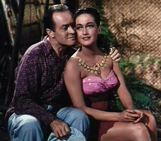 Bob Hope and Dorothy Lamour as seen in 1952