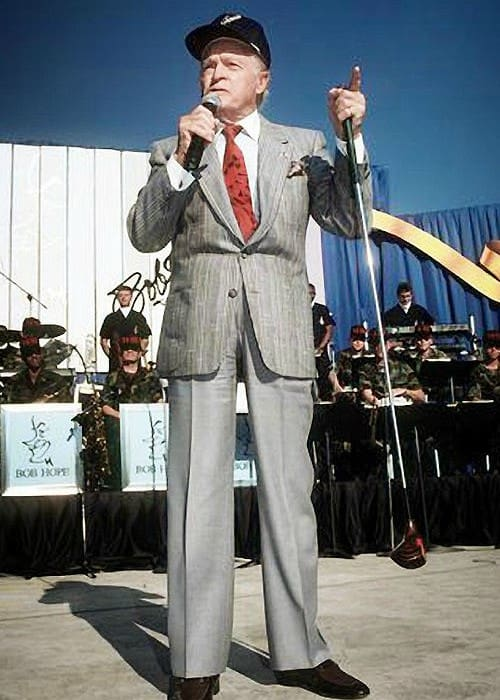 Bob Hope as seen in 1990