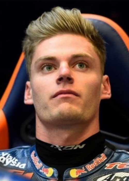 Brad Binder as seen in an Instagram Post in December 2016