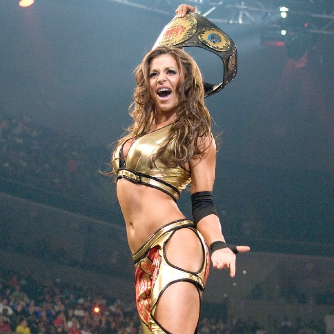 Candice Michelle as seen in October 2016