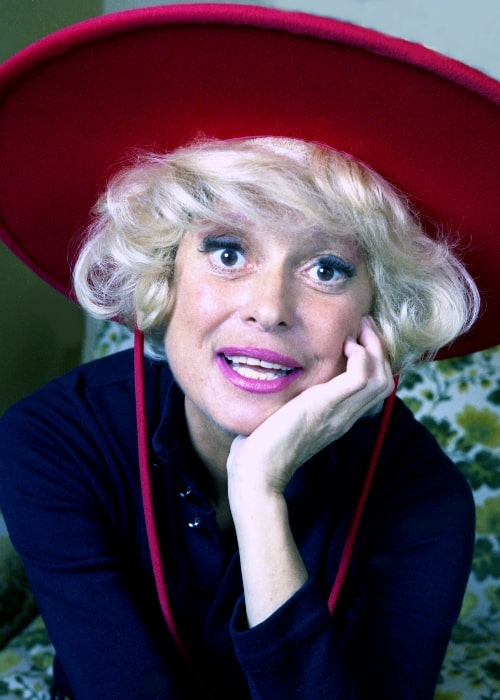 Carol Channing as seen in 1973
