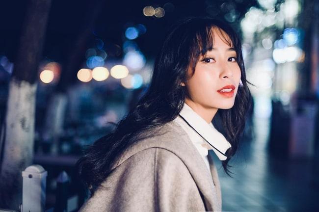Carol Zhao as seen in an Instagram Post in December 2018
