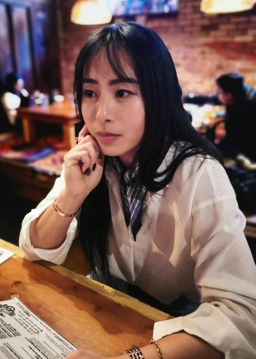 Carol Zhao as seen in an Instagram Post in May 2019