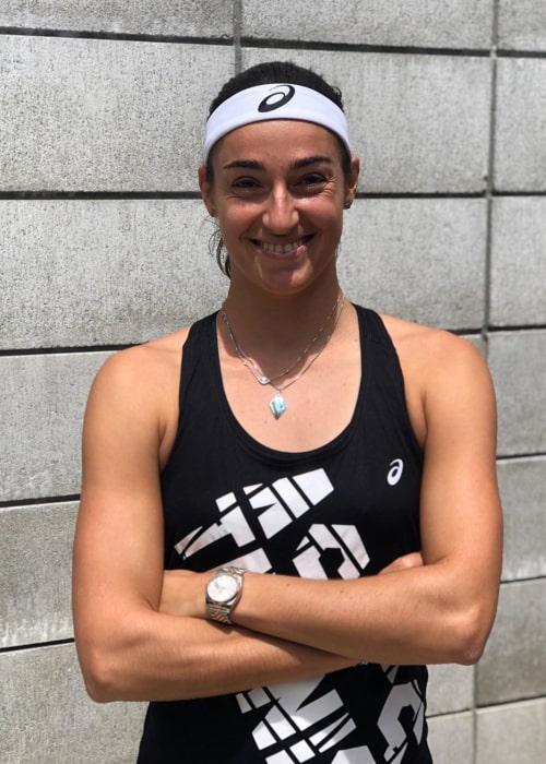 Caroline Garcia as seen in an Instagram Post in January 2020