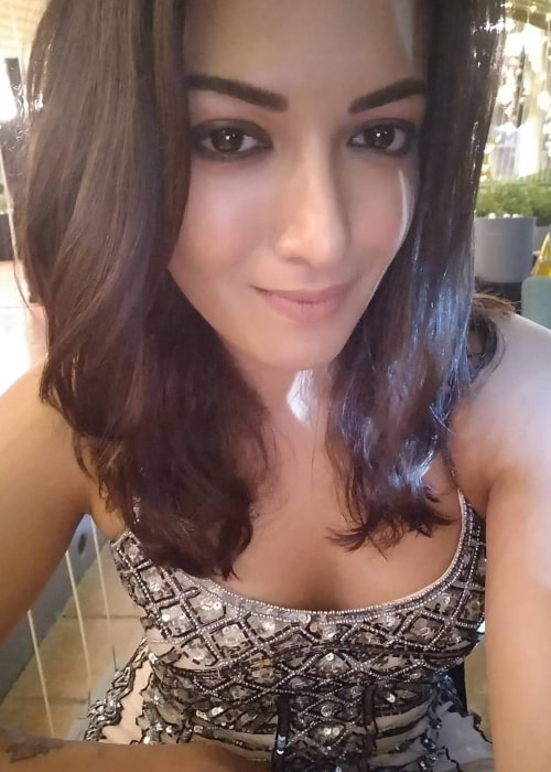 Catherine Tresa as seen in April 2018
