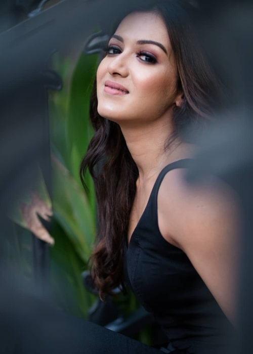 Catherine Tresa as seen in January 2019