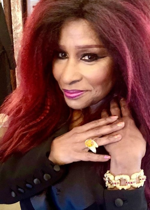 Chaka Khan as seen in a picture taken in New York City, New York at the 2019 Tiffany Blue Book Gala Event in October 2019
