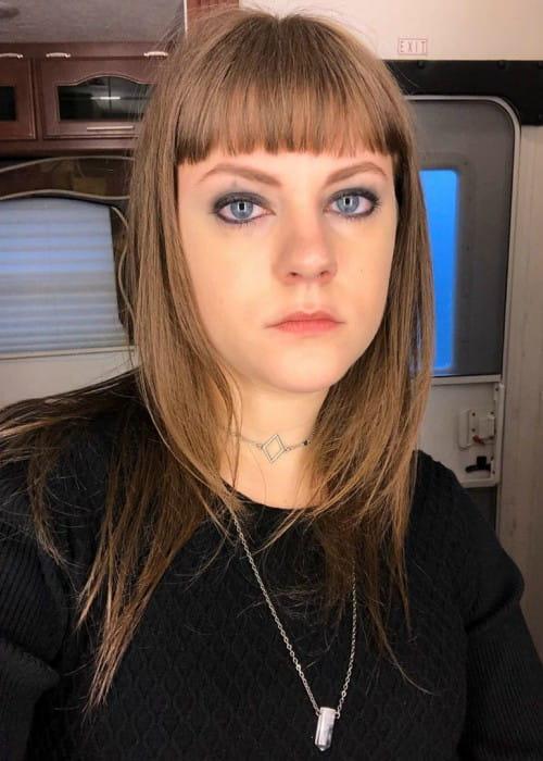 Chanelle Peloso as seen in February 2020