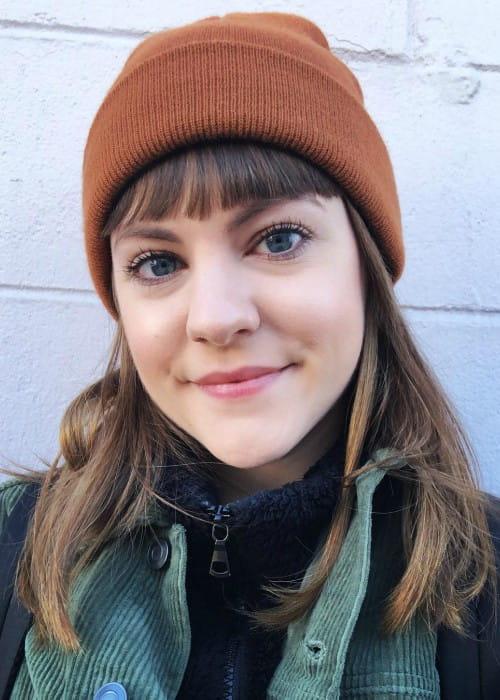 Chanelle Peloso in a selfie in March 2019