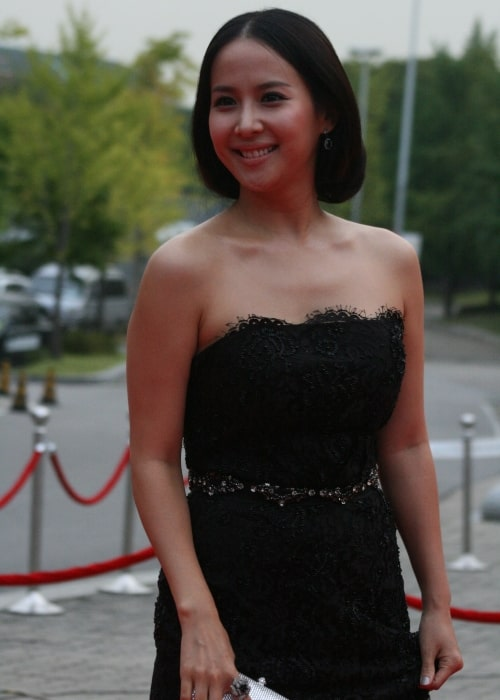 Cho Yeo-jeong as seen in a picture taken at the 2009 Seoul Drama Awards on September 11