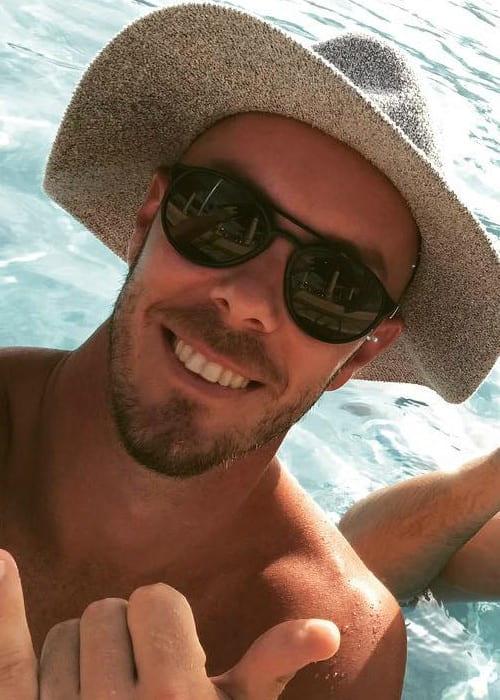 Chris Lynn in an Instagram selfie as seen in September 2018