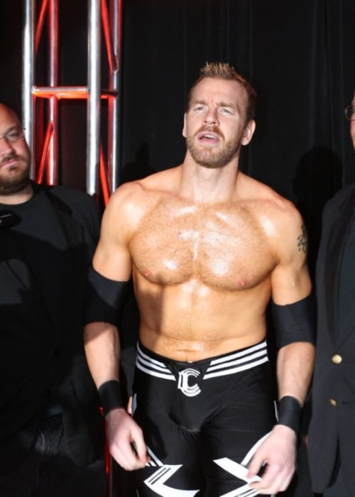 Christian Cage as seen in a picture taken during his wrestling entry in on September 6, 2008