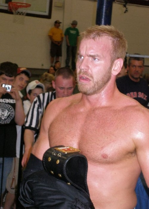 Christian Cage as seen in a picture taken on April 22, 2007