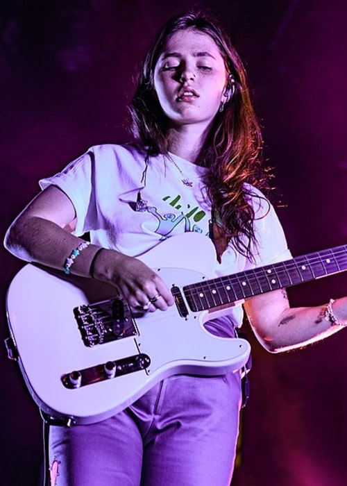 Clairo as seen in April 2019