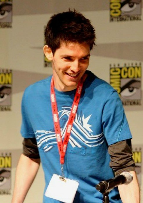 Colin Morgan at 2010 San Diego Comic-Con International