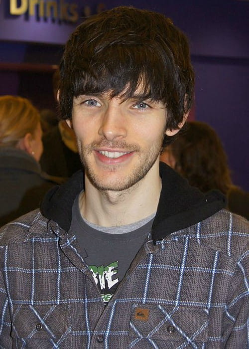 Colin Morgan during an event as seen in February 2011