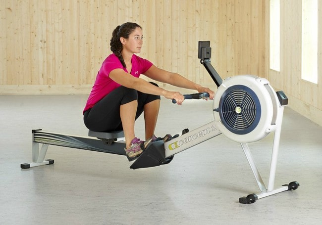 Concept2 Model D Indoor Rowing Machine with PM5 Workout