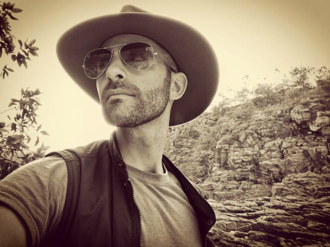 Coyote Peterson in a selfie in April 2019
