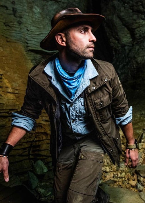 Coyote Peterson in an Instagram post as seen in May 2019