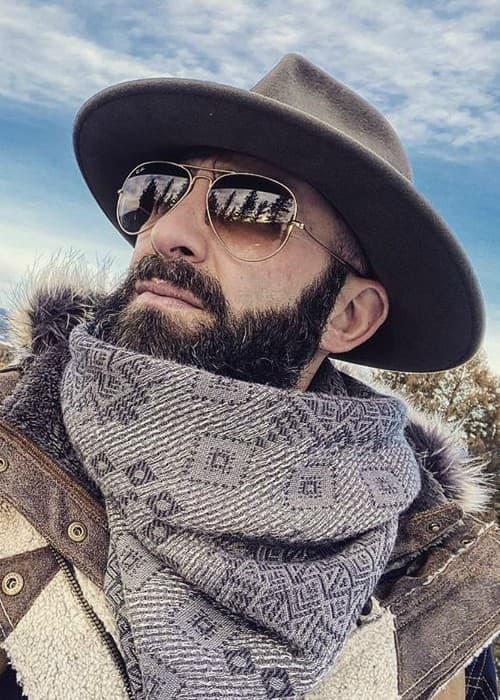 Coyote Peterson in an Instagram selfie as seen in January 2020