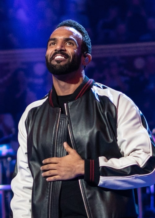 Craig David as seen in a picture taken at The Queen's Birthday Party on April 21, 2018
