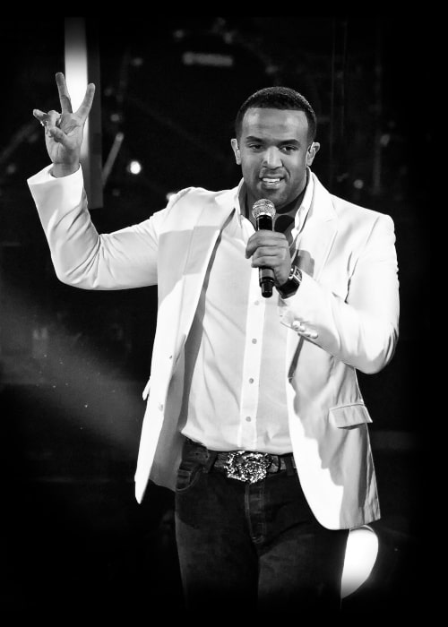 Craig David as seen in a picture taken during a performance of his Madrid on December 12, 2008
