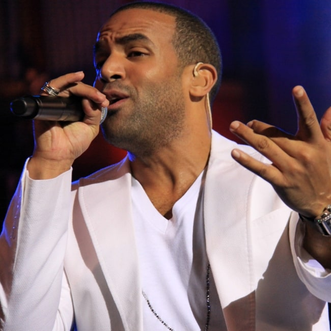 Craig David as seen in a picture taken in while performing at a concert in Gran Canaria, Spain on March 1, 2009